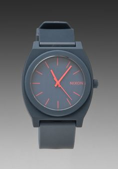NIXON The Time Teller P in Matte Navy at Revolve Clothing - Free Shipping!