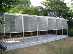 6 Suspended Aviaries