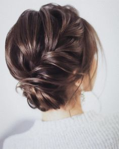 100 Prettiest Wedding Hairstyles For Ceremony & Reception messy updo bridal hairstyle,updo hairstyles ,wedding hairstyles weddinghair hairstyles updo hairupstyle chignon braids simplebun weddinghairupdos 658932989211872831 Bridal Hairstyle Indian Wedding, Wedding Hairstyles For Long Hair, Bridal Updo, Wedding Hair And Makeup, Bride Hairstyles, Hair Wedding, Indian Hairstyles, Messy Wedding Updo, Hairstyle Ideas