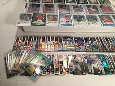 106 Card ALL ROOKIE LOT!! CHROME! ALL Topps & Bowman RC,(6) GRADED PSA 10, AUTO