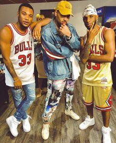 Ar'mon n Trey wit Breezy Chris Brown Drawing, Chris Brown Art, Chris Brown Style, Breezy Chris Brown, Chris Brown Daughter, Chris Brown Videos, Chris Brown Outfits, Chris Brown Official, Chirs Brown