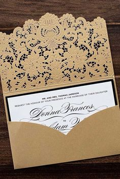 18 Vintage Wedding Invitations For Your Perfect Big Day