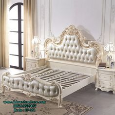 French Luxury Leather double Bed m wood Jane European Prince Bed Continental Beds marriage Bed special offer Luxury Bedroom Furniture, Bedroom Decor, Princes Bed, Leather Double Bed, Double Bed Designs, Camas King, Royal Bedroom, Couple Room, Master Bedroom Closet