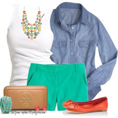"""""""Casual Color Blocking"""" by sophie-01 on Polyvore"""