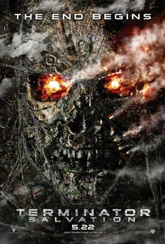 awesome terminator salvation poster