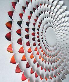 Arte em papel cortado por Lisa Rodden