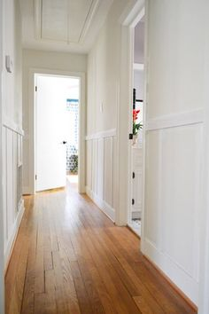 Breaking Down Our $57 Board & Batten   Young House Love - we could do this in our hallway