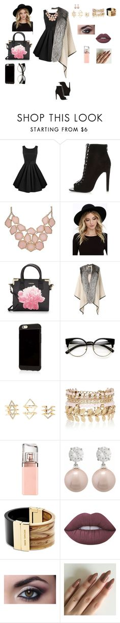"""""""PARTY"""" by frii-skylar-garrix ❤ liked on Polyvore featuring River Island, RHYTHM, Calvin Klein, Mr & Mrs Italy, MINX, ZeroUV, Charlotte Russe, HUGO, Jankuo and Michael Kors"""