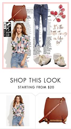 """""""Shein"""" by loveliest-back ❤ liked on Polyvore featuring Burberry"""
