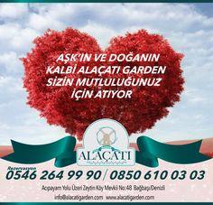 Aşkın ve Doğanın Kalbi Alaçatı Garden Sizin Mutluluğunuz İçin Atıyor... www.alacatigarden.com | 0258 264 99 90 | 0546 264 99 90 #alaçatı #garden #düğünsalonu #denizli #bağbaşı #evlilik #kırdüğünü #kır #alaçatıgarden #denizlidüğün #damat #gelin #türkiye #turkey #yeldeğirmeni #windmill #marriage #bride #countrymarriage #event #organization #wedding #green #heart #love #nature #aşk #kalp #doğa #siz #you