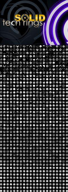Solid Tech Rings by pstutorialsws.deviantart.com on @deviantART
