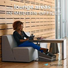 Offering a palette of posture in the office is critical to employee wellbeing. That's why we created new additions to our Campfire line. Learn more about incorporating lounge posture in your workplace. #spacematters blog.myturnstone.com #Padgram