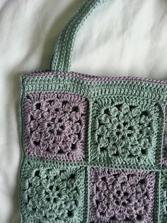 Lavender and Wild Rose: Vintage flower bag Tutorial  ༺✿Teresa Restegui http://www.pinterest.com/teretegui/✿༻