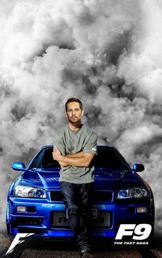 Paul Walker Car, Paul Walker Tribute, Movie Fast And Furious, Furious Movie, Paul Walker Wallpaper, Wallpaper Carros, Cr7 Messi, Badass Movie, Street Racing Cars