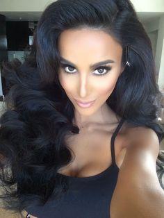 brazilian body wave hair 6a grade virgin human hair extension, unprocessed virgin hair.  get this from @mayfair hair http://www.aliexpress.com/store/1627114