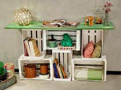 muebles con cajones de fruta - Google Search