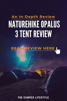 Looking to buy a new tent for an upcoming camping trip? The Naturehike Opalus 3 might be worth considering. The Nature Hike Opalus 3 is a 4 season tent and is perfect for 2 to 3 people on a long-distance bike tour, particularly in wet and windy climates. There are, however, a few niggles to consider before going ahead with this purchase, so make sure you read our review of the Naturehike Opalus before making any decision. #campingtentreview #campinggear #tentcamping #campingtips #backpacking Best Tents For Camping, Cool Tents, Tent Camping, Best Hiking Gear, Thru Hiking, Ultralight Hiking, Backpacking Tent, Packing List For Travel, Packing Lists