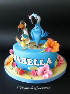 Cake Wrecks - Home - Sunday Sweets Celebrates Kids' Movies Fondant Cakes, Cupcake Cakes, Cupcakes, Rio Birthday Cake, Rio Cake, Crea Fimo, Movie Cakes, Bird Cakes, Cake Wrecks