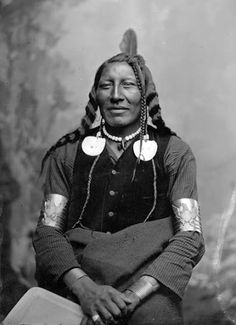 Spotted Horse, Crow, circa 1885 ~ Hair