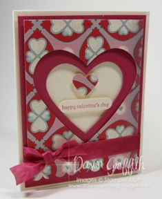 Stampin' Up Valentine Cards Handmade