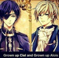Grown up Ciel and Alois :3