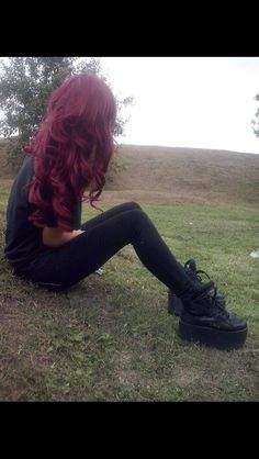 I miss when my hair was this color omfg. But it fucks everything up and my hair needs to grow so