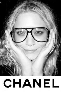 Is it just me or does she look like Chester the Molester in these glasses? @Patty VanBruwaene & @Amanda Modrzejewski