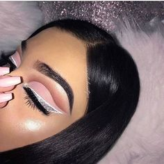 Can't see the haters because I'm always closing my eyes to show off my make up  @angelicbeautyxo