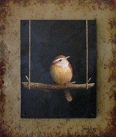 'Trust' by David Arms... resting wren