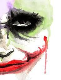 Bildergebnis für joker watercolor