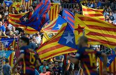 """UEFA multa a Barça con 40.000 por """"pancartas ilícitas"""" ante Bayer Leverkusen - La Comisión de Control, Ética y Disciplina de la UEFA ha decidido imponer al Barcelona una multa de 40.000 euros por la exhibición de """"pancartas ..."""