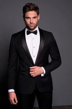 s tuxedo wedding, wedding tuxedos, black suit wedding Tuxedo Bow Tie, Groom Tuxedo, Tuxedo For Men, Groom And Groomsmen, Black Tie Tuxedo, Bow Tie Suit, Bow Tie Wedding, Wedding Suits, Wedding Tuxedos