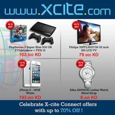 Celebrate X-cite Connect with up to 70% off exclusively from our website! Get browsing and start shopping!    عروض من اكس سايت: لغاية ٧٠٪ خصومات فقط من موقعنا! لايطوفك    https://www.xcite.com/xcite-connects.html