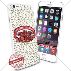 New iPhone 6 Case Jacksonville State Gamecocks Logo NCAA #1216 White Smartphone Case Cover Collector TPU Rubber [Anchor] SURIYAN http://www.amazon.com/dp/B01504H1OI/ref=cm_sw_r_pi_dp_kTJxwb0TA5H19