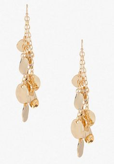 Chain & Coin Earring #bebe #summer #musthaves