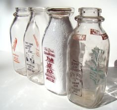 things to fill empty milk bottles with | Add it to your favorites to revisit it later.