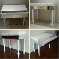 Konsola  od Acoco #acoco #acocodesign #wood #drewno #deska #polishlabel #wnętrze #home #stolik #salon #withe #modern #design #nowoczesna #garderoba #salon