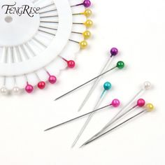 FENGRISE 480ps Multi Round Pearl Head Dressmaking Pins Weddings Corsage Florists Sewing Tool Mini Ball Handmade Crafts Accessory #>=#>=#>=#>=#> Click on the pin to check out discount price, color, size, shipping, etc. Save and like it!