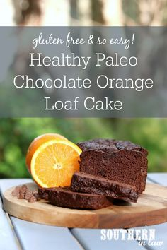 The Best Healthy Paleo Chocolate Orange Cake Recipe – this Jaffa loaf is an easy one bowl recipe that is a MUST make! Moist, delicious and . Dairy Free Chocolate Cake, Chocolate Orange, Gluten Free Chocolate, Healthy Chocolate, Chocolate Recipes, Healthy Cake Recipes, Banana Recipes, Orange Recipes Healthy, Healthy Treats