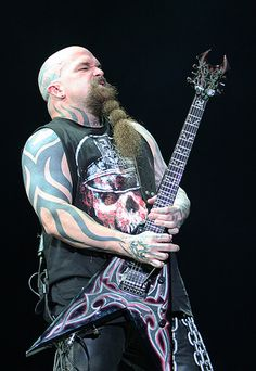 Kerry King from Slayer. Music Pics, Music Photo, Art Music, Music Videos, Heavy Metal Music, Heavy Metal Bands, Blues Rock, Blade Runner, Hard Rock