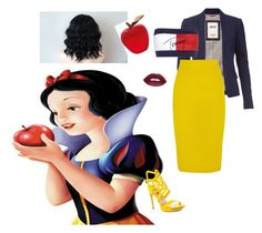 """""""Like Snow White"""" by saniyags on Polyvore featuring Tommy Hilfiger, Daum, J.Crew, Penny Loves Kenny, women's clothing, women's fashion, women, female, woman and misses"""