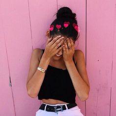 ~Si me sonrojo al verte, no es porque tenga mucho calor, si no porque te amo~