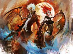 Wild Wild Vampires - Evilyn and Mister S by Eyardt on DeviantArt
