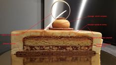 Caramel and Vanilla Entremet, Desserts, A dessert to make absolutely ! Cake Filling Recipes, Vegan Dessert Recipes, Pastry Recipes, Entremet Caramel, Entremet Recipe, Dessert Restaurants, Sweet Cooking, Cake & Co, Eclair