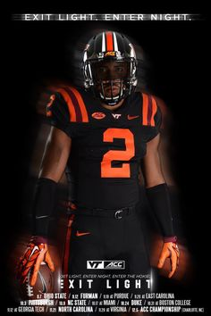 Virginia Tech all black uniforms for Coach Frank Beamer's last home game Sept. Football Uniforms, Football Helmets, Blackout Game, Arena Football, Boston College, Virginia Tech, Cleveland Browns, College Football, Pittsburgh