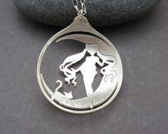 Sailor Moon Necklace, Spoon Necklace, Attractive Charm Anime Sailor Moon Tsukino…