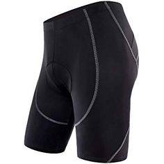 Sportneer Men's Cycling Shorts Coolmax Padded Bike Bicycle Pants Tights, Anti-Slip Design, Breathable & Absorbent Best Cycling Shorts, Cycling Gear, Cycling Outfit, Cycling Equipment, Road Cycling, Cycling Clothing, Cycling Tights, Cycling Jerseys, Bicycle Pants