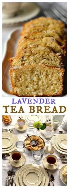 Downton Abbey Lavender Tea Bread | Whether you aspire to cook like Mrs. Patmore from Downton Abbey, or you just want to throw your own smashing tea party, this recipe is sure to leave you and your guests feeling rich!