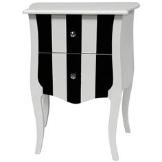 Audrey Accent Cabinet. Love the stripes! This would be cute in so many color combos