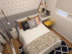 10 Interior Design Suggestions for Small Bedroom Decoration - Bedroom Decor ideas Interior, Home Bedroom, House Rooms, Home Decor, Room Inspiration, Small Bedroom, Bedroom Decor, Interior Design, New Room